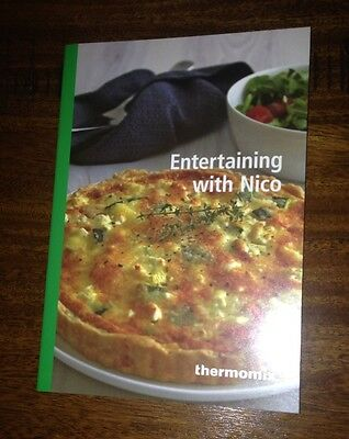 Entertaining with Nico booklet Thermomix cookbook