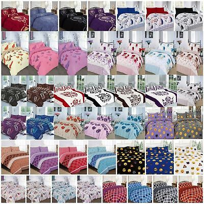 New Multi Designs Luxurious Duvet Covers Quilt Covers Reversible Bedding Sets NZ