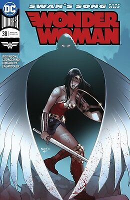 Wonder Woman #38 Dc Universe - 1St Print - Bagged And Boarded. Free Uk P+P!