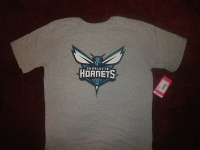957afc9b CHARLOTTE HORNETS YOUTH T Shirt Size XL 18 Adidas Distressed Logo ...