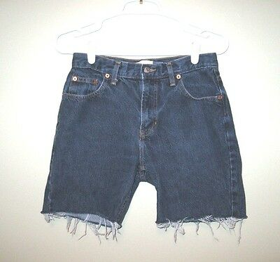 Vtg 90s GAP Original Fit Jeans size 4 made in the USA Cut Off Denim Shorts 28
