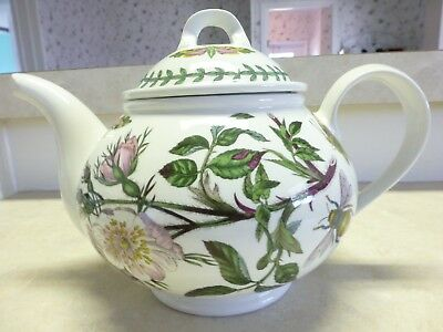 "Fabulous Portmeirion Botanic Garden Dog Rose Teapot with Lid ""Made in England"""