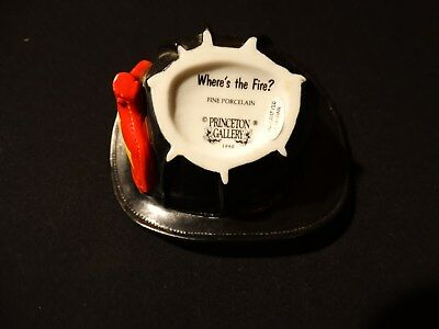 """Princeton Gallery """"Where's The Fire?"""" hat"""