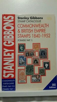 Stanley Gibbons Stamp Catalogue. Commonwealth & British Empire Stamps
