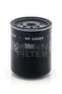2x Oil Filters WP920/80 Mann 1560187308 8943406970 8943406971 8943604270 Quality