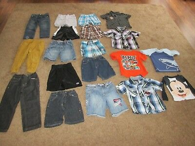 Lot of 19 Pieces Baby Toddler BOYS 3T Spring / Summer / Fall Clothes