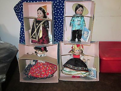 Madame Alexander Dolls Of The World (Lot Of 4)