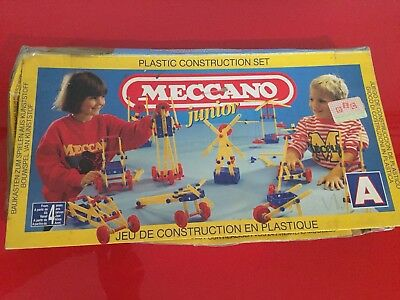 Meccano Vintage Set In Box Made In France