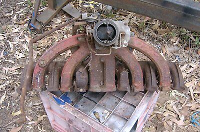 valiant manifold carby intake exhaust out of vc