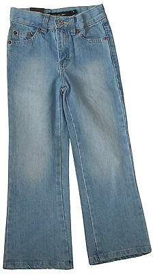 "Calvin Klein Girl Faded Blue Denim Jeans 4 Waist 20"" New"