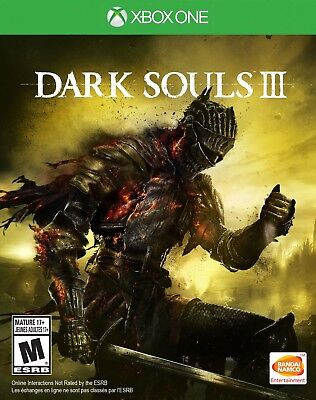 Dark Souls III 3 (Xbox One) *****BRAND NEW & FACTORY SEALED***** Free Shipping!!