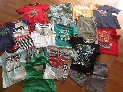 Boys Bulk Clothing Size 5 To 6 With New Brand New With Tags