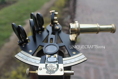 Beautiful  Maritime Nautical Solid Sextant Vintage Style Ship Navigation Sextant