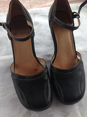 Colorado Black Mary Janes Leather size 9