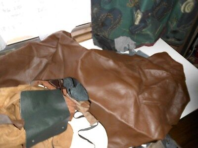 Brand New Cow Hide Leather Scraps,pieces Off Cuts Crafts 3Kg Bag No5