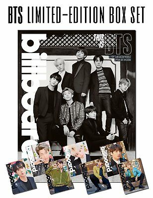BTS x BILLBOARD MAGAZINE (LIMITED EDITION) SETS (MAGAZINE + POSTER)