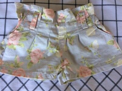 Girls Shorts Size 4 Floral Never Worn