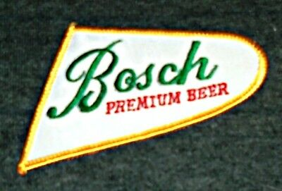 Vintage Original 1970's Bosch Beer Route Drivers Shirt Patch