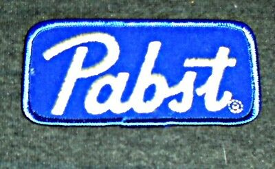Vintage Original 1960's Pabst Blue Ribbon Beer Route Drivers Shirt Patch
