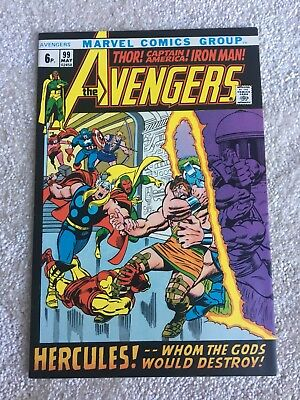 The Avengers #99 - Whom The Gods Would Destroy - Hercules App - High Grade Vf/nm