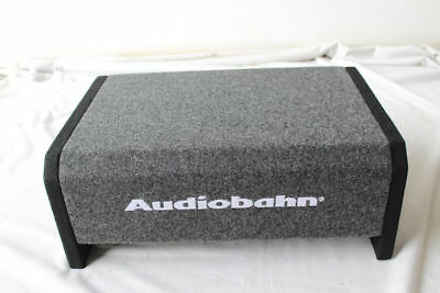 "Audiobahn 10"" 1200W Car Truck Shallow Slim Loaded Boom Bass box Audio Subwoofer"