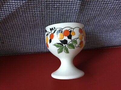 Royal Doulton egg cup from 1920s in 'Mountain Ash' Art Deco pattern