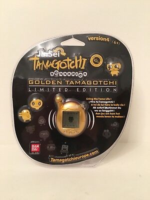 Tamagotchi Connection Jinsei Limited Edition Gold Version from 2007 #18100