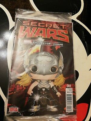Secret Wars #1 Marvel Collector Corps Loot crate