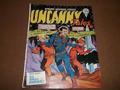 1960s strange UNCANNY tales  THE SPELL CASTERS comic #81