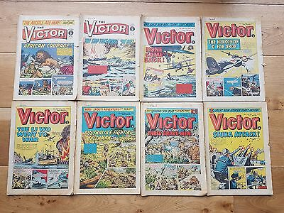 The Victor Comic 8 Issues