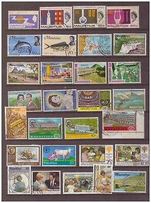 Mauritius used stamps selection