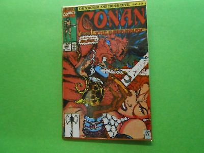 Conan the Barbarian #242 Limited Edition Cover Pin #1480/2500 Jim Lee in Box