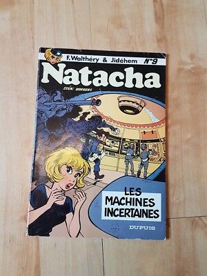 Natacha - 9 . Les machines incertaines (EO)