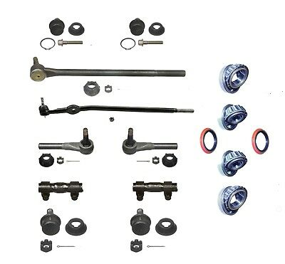 16 Pc Tie Rod Ball Joint Wheel Brg Seal Kit 1992-97 Ford Ranger 2 WD Mazda B2300
