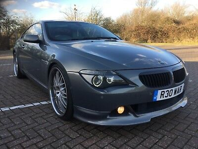 "BMW 645ci HARTGE.STRATUS GREY,22"" ALLOYS,LEATHER,LOW MILES,M6,M5,M3,MAY SWAP,PX"