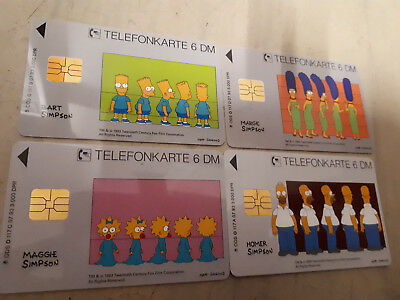 O117A-D 1993 Simpsons voll mint 2500 Auflage selten!