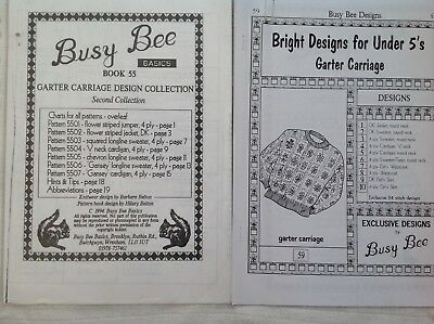 Busy Bee Basics Designs for under 5's & Garter Carriage Design Collection Bk 55