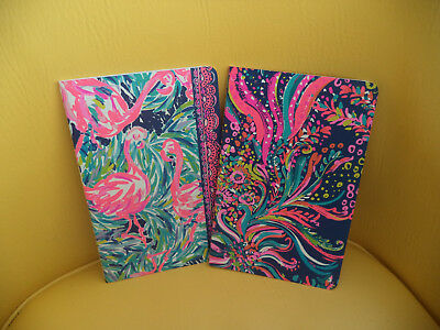 Nwt Lilly Pulitzer Pocket Notebooks Set Of Two -Wellness New For 2018
