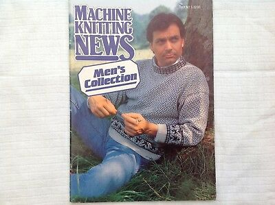Machine Knitting News - Men's Collection - patterns for Knitting Machine