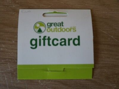 Great OutDoors Gift Vouchers (Value EUR200.00)
