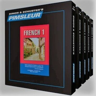Pimsleur French - Learn to Speak and Understand French Levels 1-5 + French Plus