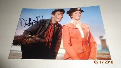 Dick Van Dyke Signed Picture Autographed With COA Mary Poppins RARE