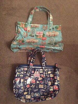 2 Cath Kidston Oilcloth Bags And 2 Purses