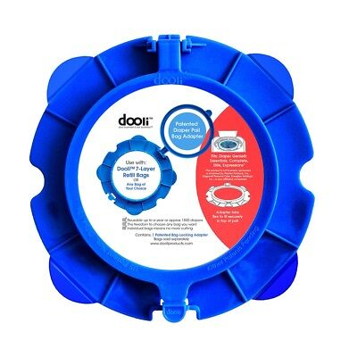Diaper Genie® Compatible Bag Adapter by Dooli - Use your own bags!!  Save Money