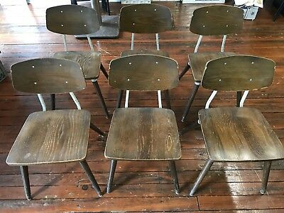 Vintage Mid Century Raymond Loewy Hill-Rom Betsy Johnston Hospital Chairs 8 Lot