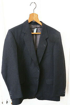 """Designer Magee Tailored Tweed Jacket 1980's Immaculate Condition 46"""" Chest Suit"""