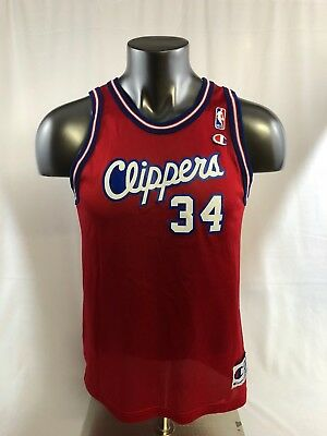 Michael Olowokandi Los Angeles Clippers Vintage Champion Jersey Youth Xl 8e12ad69f