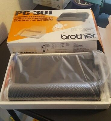 BROTHER PC-301 Printing Cartridge new sealed free shipping