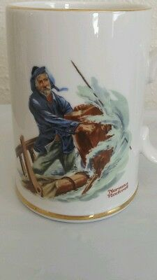 "Norman Rockwell Museum - ""Braving the Storm"" - Coffee/Hot Tea Mug) 1985)"