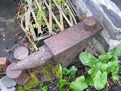 Vintage Original Large British Rail Anvil For Metal Work Plymouth See More Items